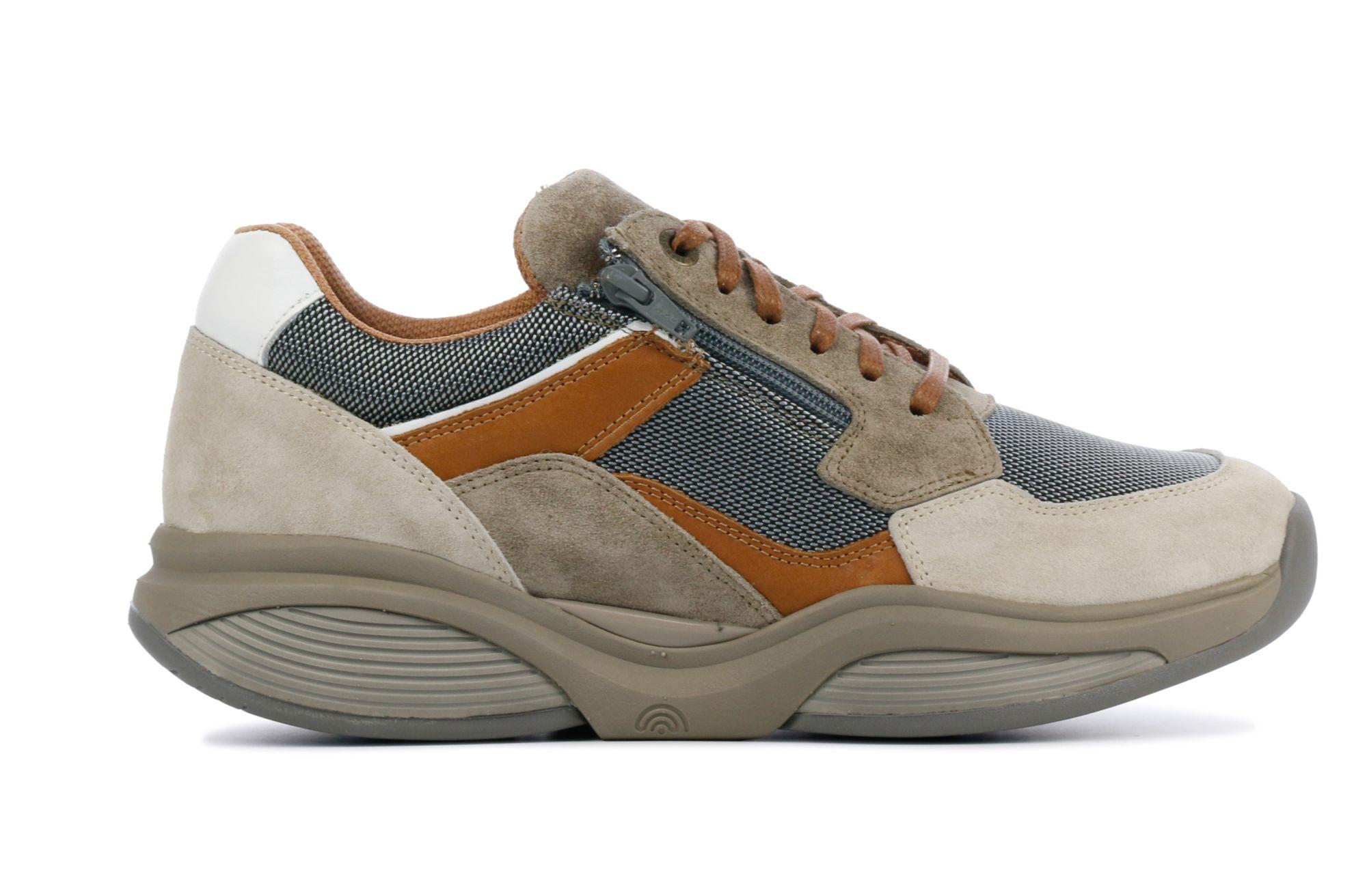 Xsensible Stretchwalker Heren Leren SneakersSneakers