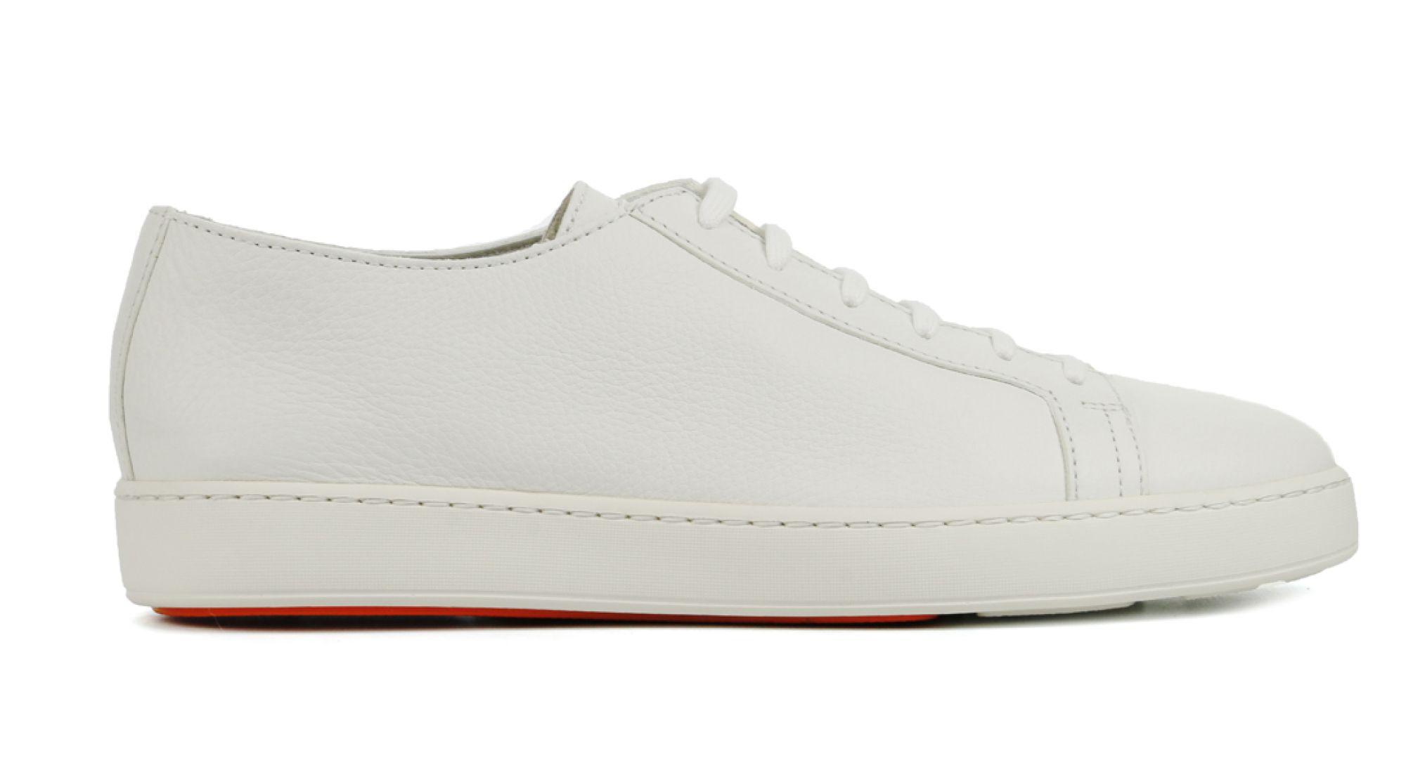 Santoni Heren Leren SneakersSneakers