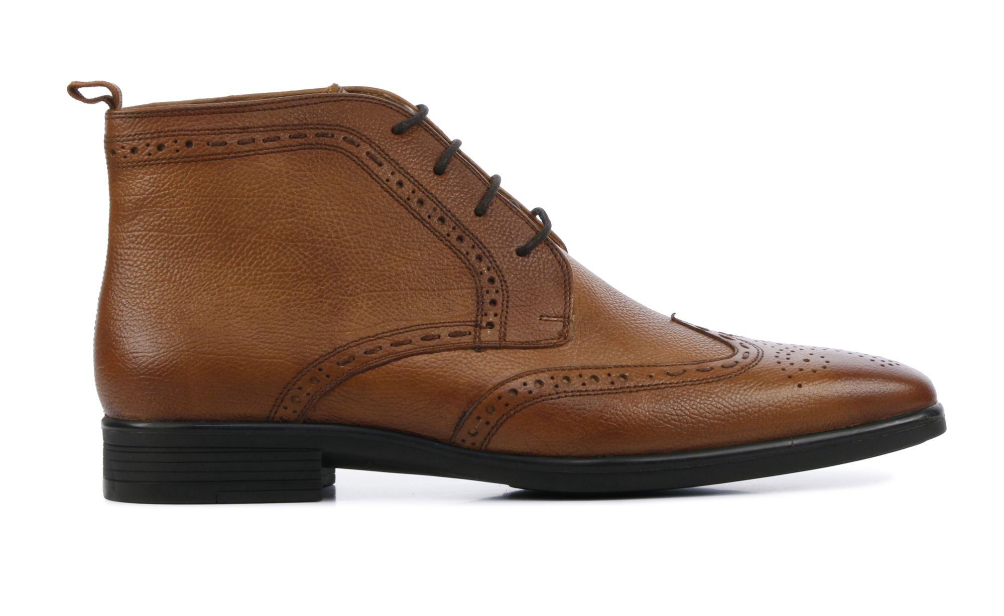 Stefano Lauran Heren Leren Boots