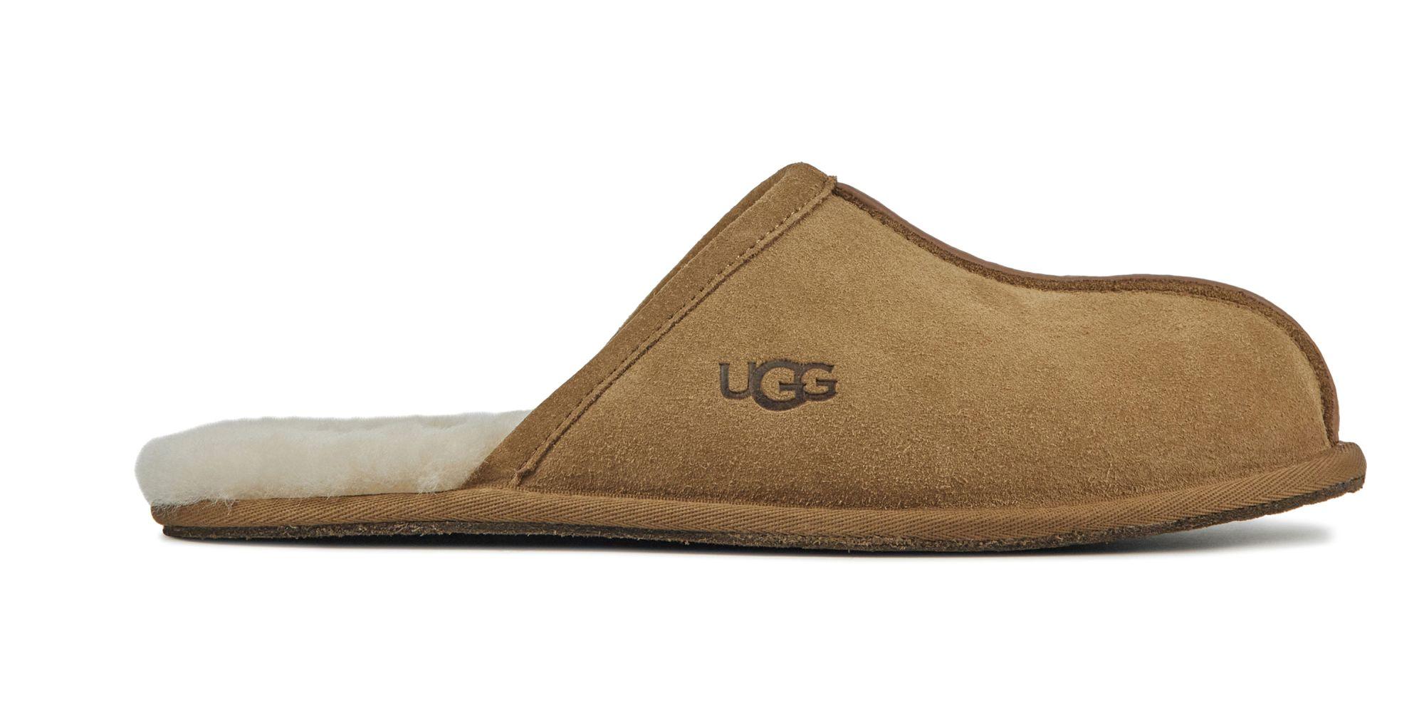 UGG Heren Leren PantoffelsPantoffels