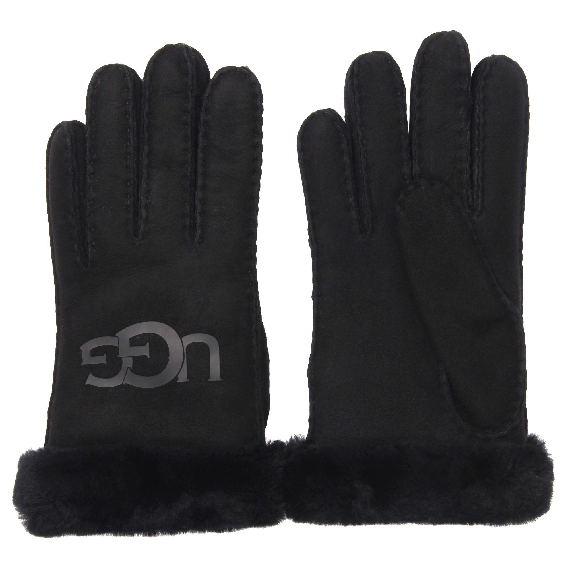 UGG Dames Leren HandschoenenHandschoenen